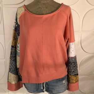 Free People sweat shirt